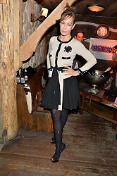 TARA PALMER-TOMKINSON at Skiing With Heroes Junior Committee Awareness Party held at Bodo's Schloss, 2A Kensington High Street, London on 6th November 2014.