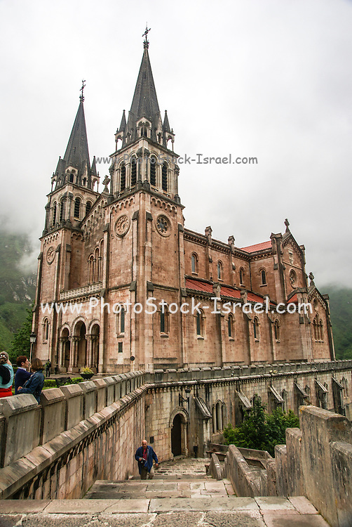 Covadonga Asturias Spain Cathedral