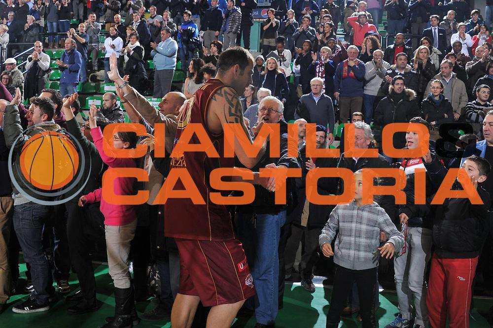 DESCRIZIONE : Treviso Lega A 2011-12 Umana Venezia Banco di Sardegna Sassari<br /> GIOCATORE : szymon szewczyk<br /> CATEGORIA :  esultanza<br /> SQUADRA : Umana Venezia Banco di Sardegna Sassari<br /> EVENTO : Campionato Lega A 2011-2012<br /> GARA : Umana Venezia Banco di Sardegna Sassari<br /> DATA : 11/01/2012<br /> SPORT : Pallacanestro<br /> AUTORE : Agenzia Ciamillo-Castoria/M.Gregolin<br /> Galleria : Lega Basket A 2011-2012<br /> Fotonotizia :  Treviso Lega A 2011-12 Umana Venezia Banco di Sardegna Sassari<br /> Predefinita :