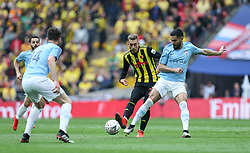 Ilkay Gundogan of Manchester City tackles Gerard Deulofeu of Watford - Mandatory by-line: Arron Gent/JMP - 18/05/2019 - FOOTBALL - Wembley Stadium - London, England - Manchester City v Watford - Emirates FA Cup Final