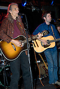 """Jimmie Dale Gilmore and Colin Gilmore at the benefit for Jesse """"Guitar"""" Taylor at Antone's in Austin Texas, April 10, 2008."""