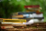Libros que forman parte de la exposicion