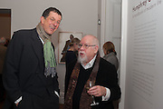 ANTONY GORMLEY; SIR PETER BLAKE, Humphrey Ocean. The launch of the book: ' A handbook of modern life'  and an exhibition of portraits on paper. National Portrait Gallery. London.  13 December 2012.