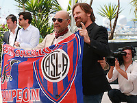 Writer Fabian Casas and Actor Viggo Mortensen at the photo call for the film Jauja at the 67th Cannes Film Festival, Sunday 18th May 2014, Cannes, France.