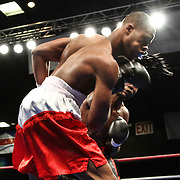 "Light-Heavyweight weight boxing pro David ""one two Murray of Wilmington in action during champs at the chase against Light-Heavyweight weight boxing pro Jihad St. John Friday, Nov 21, 2014 at The Case Center on The River Front in Wilmington, Del."