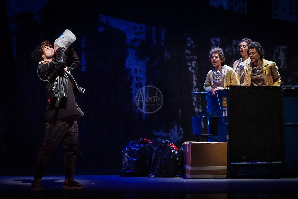 Pacific Music Works with UW School of Music production of Mozart's The Magic Flute.