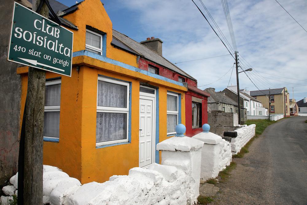 Village Tory Island North-Western Ireland