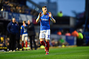 James Bolton (13) of Portsmouth during the EFL Sky Bet League 1 match between Portsmouth and Ipswich Town at Fratton Park, Portsmouth, England on 21 December 2019.