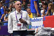 Raffaele Cortina<br /> Nazionale Italiana Maschile Senior<br /> Eurobasket 2017 - Group Phase<br /> Italia Germania Italy Germany<br /> FIP 2017<br /> Tel Aviv, 05/09/2017<br /> Foto M.Ceretti / Ciamillo - Castoria