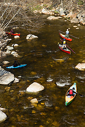 Canoeing and kayaking the Ashuelot River in Surry.NH.  A tributary of the Connecticut River..