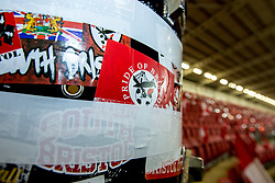 A general view of Ashton Gate, ahead of the second leg of the Carabao Cup Semi Final between Bristol City v Manchester City as a drum is set out for the singing section - Mandatory by-line: Robbie Stephenson/JMP - 23/01/2018 - FOOTBALL - Ashton Gate Stadium - Bristol, England - Bristol City v Manchester City - Carabao Cup Semi Final second leg