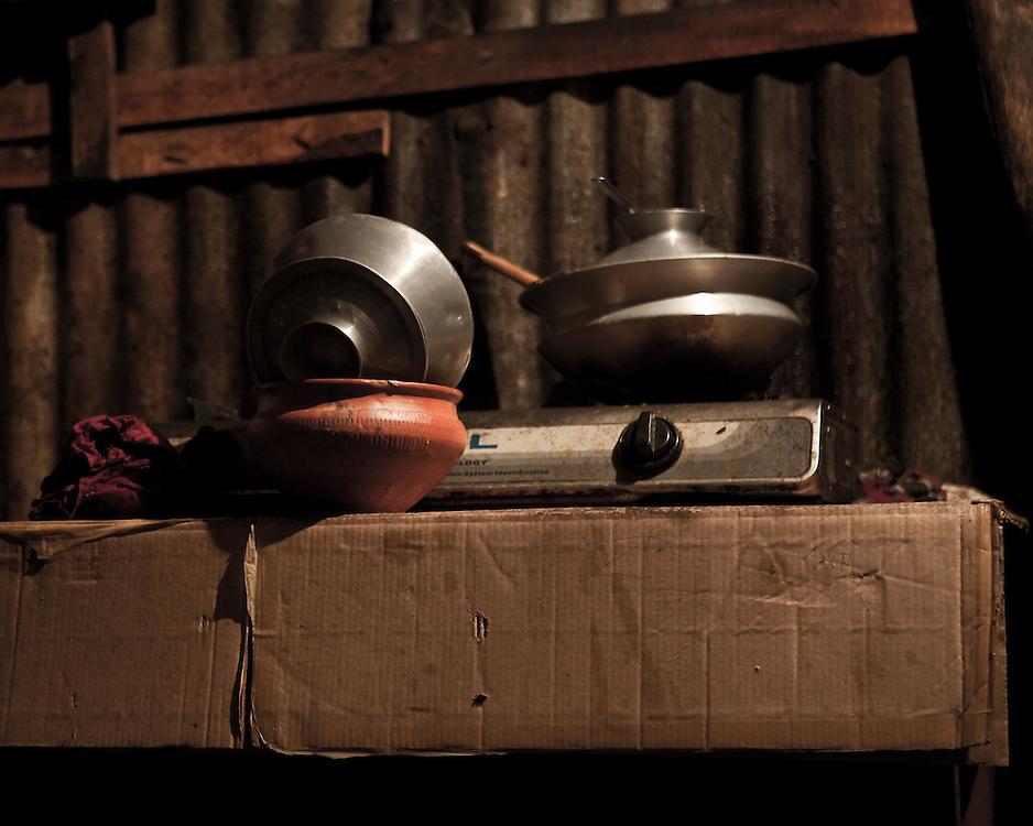 Cooking in a third world kitchen