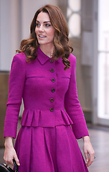 The Duchess of Cambridge visited the costume department at the Royal Opera House in London to learn more about their use of textiles, commissioning of fabrics and supply chain. 16 Jan 2019 Pictured: The Duchess of Cambridge at the Royal Opera House London. Photo credit: ©stephenbutler / MEGA TheMegaAgency.com +1 888 505 6342