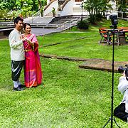THA/Bangkok/20160729 - Vakantie Thailand 2016 Bangkok, Thais Bruidspaar
