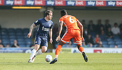 Simon Cox of Southend United runs at Omar Beckles of Shrewsbury Town - Mandatory by-line: Arron Gent/JMP - 30/03/2019 - FOOTBALL - Roots Hall - Southend-on-Sea, England - Southend United v Shrewsbury Town - Sky Bet League One