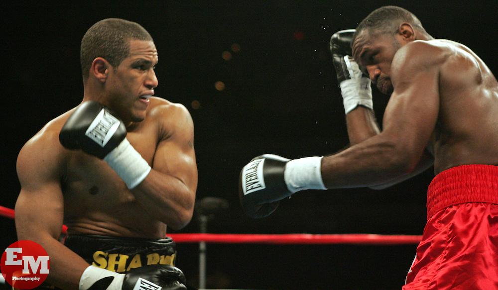 Sharmba Mitchell vs Chris Smith at the MCI Center in Washington, D.C.