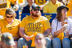 Sep 3, 2016; Morgantown, WV, USA; West Virginia Mountaineers fans sit in the stadium before the game against the Missouri Tigers at Milan Puskar Stadium. Mandatory Credit: Ben Queen-USA TODAY Sports
