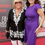 NLD/Amsterdam/20120617 - Premiere Het Geheugen van Water, Willeke Alberti en Liz Snoyink
