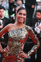 Arlenis Sosa, at the Two Days, One Night (Deux Jours, Une Nuit) gala screening red carpet at the 67th Cannes Film Festival France. Tuesday 20th May 2014 in Cannes Film Festival, France.