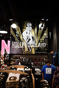 Los Angeles, April 8 2012 - Souvenir shop of Hollywood Boulevard