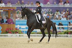 Grunsven, Anky van, Salinero<br /> London - Olympische Spiele 2012<br /> <br /> Dressur Grand Prix de Dressage<br /> © www.sportfotos-lafrentz.de/Stefan Lafrentz