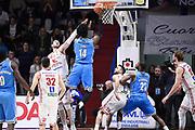 Sims Henry<br /> Vanoli Cremona - Victoria Libertas Pesaro<br /> Lega Basket Serie A 2017/2018<br /> Pesaro, 04/03/2018<br /> Foto A.Giberti / Ciamillo - Castoria