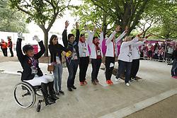 Bando, Britta;<br /> Thielen, Anne-Kareen;<br /> Weifen, Hanne;<br /> Weifen, Lena;<br /> Weiss, Birgit;<br /> Näpel, Britta, <br /> London Paralympics 2012<br /> Grade II<br /> © www.sportfotos-lafrentz.de/ Stefan Lafrentz