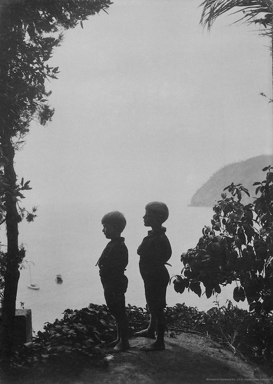 Mussolini children, 1924