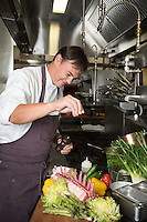 Chef Juan Bochenski heads up the restaurant at the Fairmont Empress Hotel in Victoria, BC