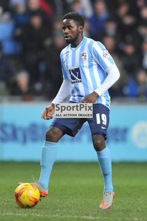 GAEL BIGIRIMANA COVENTRY CITY, Coventry City v Burton Albion, Ricoh Arena,  Sky Bet League 1, Saturday 16th JJanuary 2016