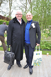CHRISTOPHER BIGGINS and NEIL SINCLAIR at the 2012 RHS Chelsea Flower Show held at Royal Hospital Chelsea, London on 21st May 2012.
