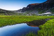 Rila Mountain in the summer