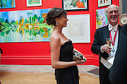 KATHERINE SCHAEFER; CHARLES SAUMERAZ SMITH, Royal Academy of Arts Annual dinner. Piccadilly. London. 29 May 2012.