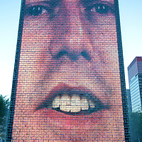 The Crown Fountain at Millennium Park Chicago outdoor art by Jaume Plesna and Krueck and Sexton Architects