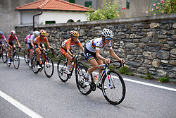 Lizzie Armitstead continues to set the pace through hillside towns at Giro Rosa 2016 - Stage 6. A 118.6 km road race from Andora to Alassio, Italy on July 7th 2016.
