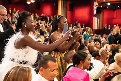 Lupita Nyong'o and Danai Gurira during the live ABC Telecast of The 91st Oscars® at the Dolby® Theatre in Hollywood, CA on Sunday, February 24, 2019.
