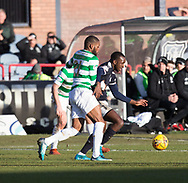 26th December 2017, Dens Park, Dundee, Scotland; Scottish Premier League football, Dundee versus Celtic; Dundee's Glen Kamara and Celtic's Olivier Ntcham