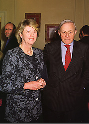 LORD & LADY NICHOLAS GORDON-LENNOX,  at an exhibition in London on 23rd April 1998.MGZ 36