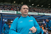 Mickey Mellon (Manager) (Tranmere Rovers) before the Vanarama National League second leg play off match between Tranmere Rovers and Aldershot Town at Prenton Park, Birkenhead, England on 6 May 2017. Photo by Mark P Doherty.