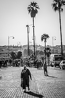 On the Streets of Meknes