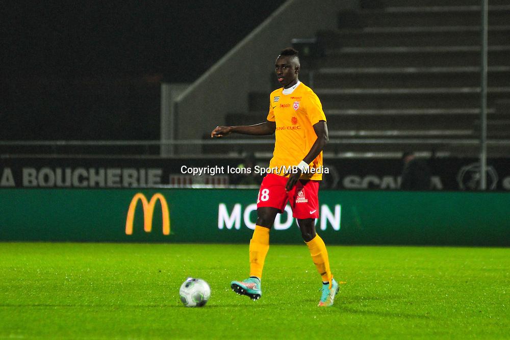 Modou Diagne  - 09.01.2015 - Angers / Nancy - 19eme journee de Ligue 2 <br /> Photo : Philippe Le Brech / Icon Sport