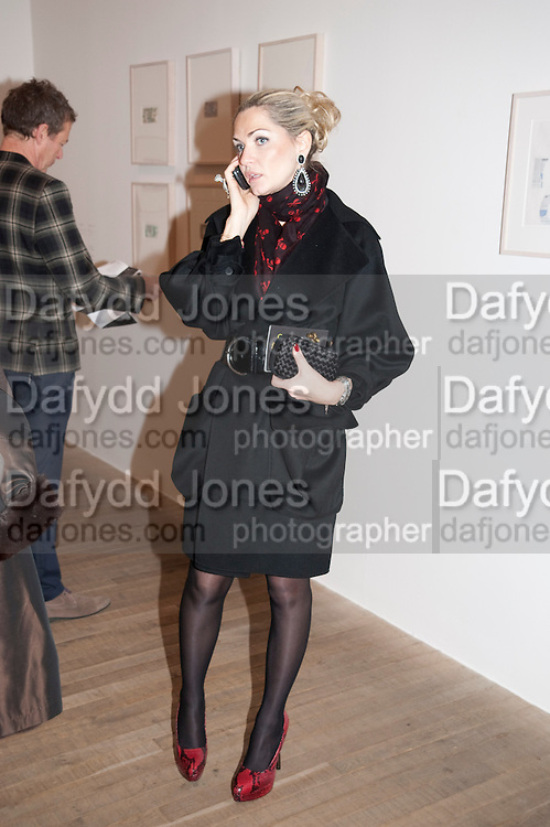 REEM DEBS;, Gabriel Orozco reception, Tate Modern, London. 18 January 2010. .-DO NOT ARCHIVE-© Copyright Photograph by Dafydd Jones. 248 Clapham Rd. London SW9 0PZ. Tel 0207 820 0771. www.dafjones.com.