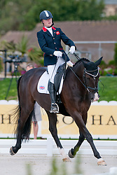 Ricky Balshaw riding LJT Enggaards Solitaire in the Grade 1b Para-Dressage at the 2014 World Equestrian Games, Caen, Normandy, France.