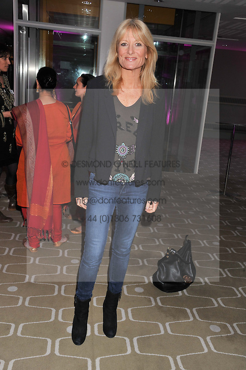 GABY ROSLIN at a private view of photographs by Joanna Vestey entitled 'Dreams For My Daughter' in aid of The White Ribbon Alliance, held at The Royal Festival Hall, South Bank, London on 8th March 2012.
