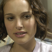 Actress Natalie Portman, then 23, is photographed in a hotel room at the Essex House in New York City on July 6, 2004.    ..