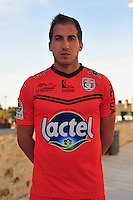 Julien Viale - 28.09.2015 - Photo officielle - Laval - Ligue 2<br /> Photo : Philippe Le Brech / Icon Sport