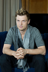 In the image - Nick Carter<br /> The Backstreet Boys, Kevin Richardson, Howie Dorough, Nick Carter, A.J. Maclean and Brien Littrell visit Spain to celebrate their 20th anniversary. The group that revolutionised a decade has been reunited to celebrate their 20th anniversary in the music world, Madrid, Spain, Tuesday, 12th November 2013. Picture by DyD Fotografos / i-Images<br /> SPAIN OUT
