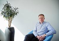 Rijswijk , 8 april 2016 - Janwillem Bouma, directeur van Shell Pensioenbureau en voorzitter van de Europese pensioenkoepel.<br /> <br /> Foto: Phil Nijhuis