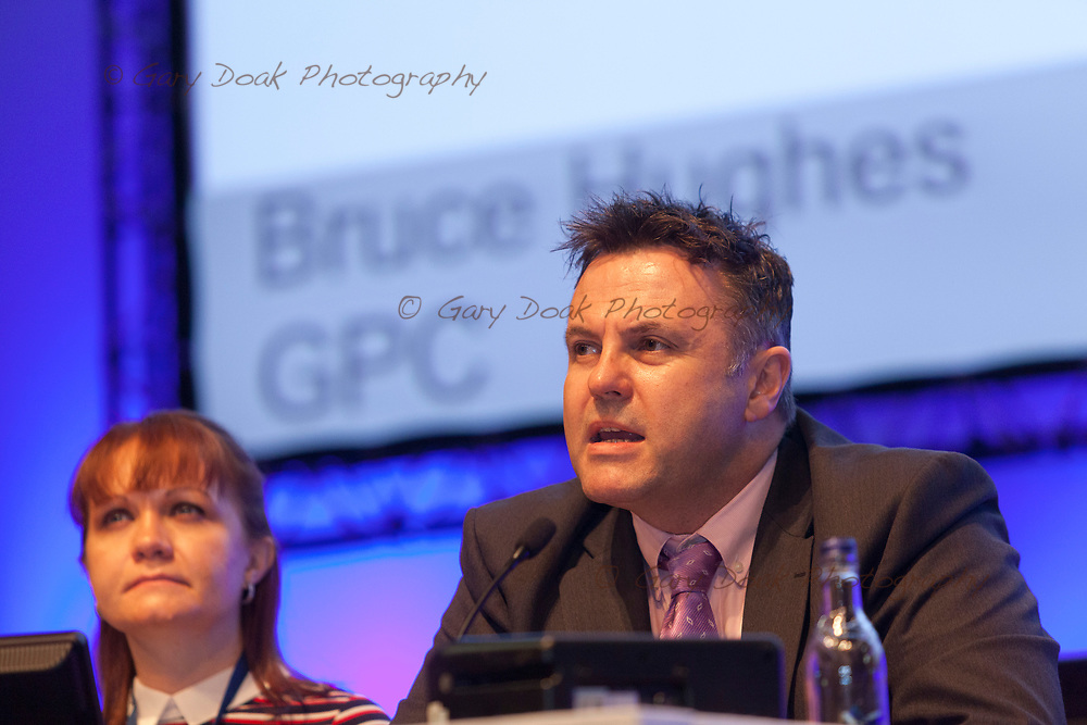 Bruce Hughes, GPC<br /> BMA LMC's Conference<br /> EICC, Edinburgh<br /> <br /> 18th May 2017<br /> <br /> Picture by Gary Doak