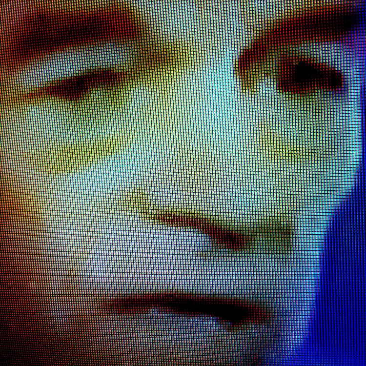 Republican presidential candidate Ron Paul is seen on television on Thursday, January 29, 2012 in Columbia, SC.